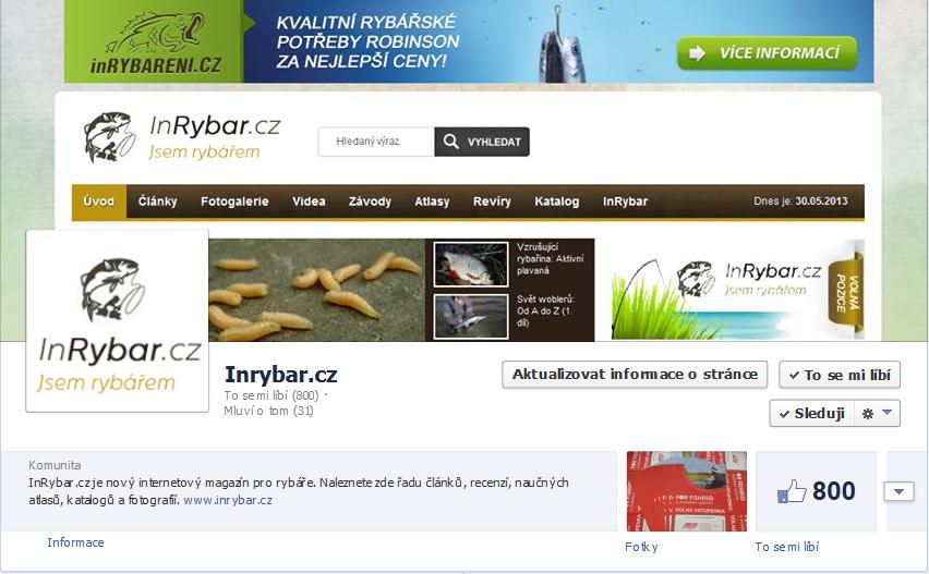 800 fans inrybar.cz