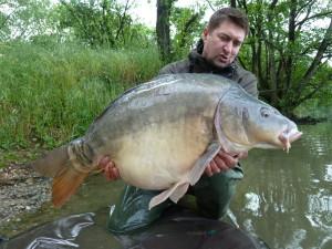 19 - kilo lysec z řeky Mosely